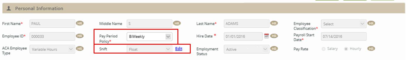 Time Clock] Setup an employee to use Time Clock